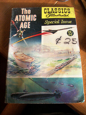 The Atomic Age Classics Illustrated Special Issue #156A June 1960 GC