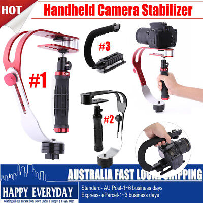 Portable Handheld Video Steadycam Stabilizer Bracket for iPhone DSLR DV Camera