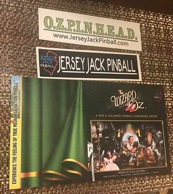 Wizard of Oz Jersey Jack Pinball Collectors Set
