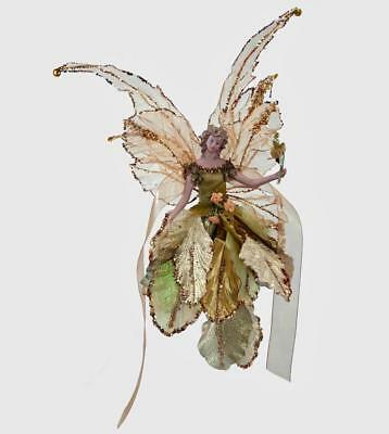 """Katherine's Collection - 10"""" Flying Spice Fairy - Christmas - 18-840387"""