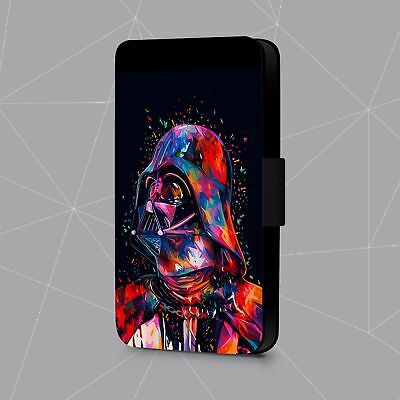 Star Wars Darth Vader Abstract Art  Faux Leather Flip Phone Case Cover