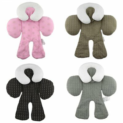 Newborn Baby Car Seat Stroller Cushion Pad Liner Mat Head Body Support Pillow DF