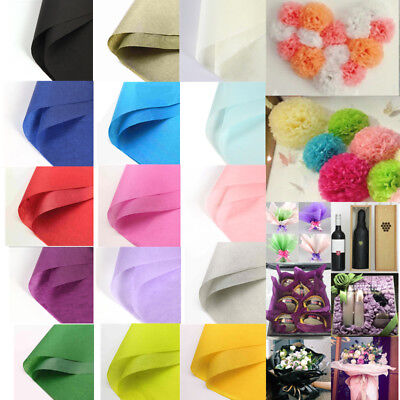 Luxury Tissue Gift Warpping Paper Acid Free 10/50 Sheets 20x27 Inch DIY Material