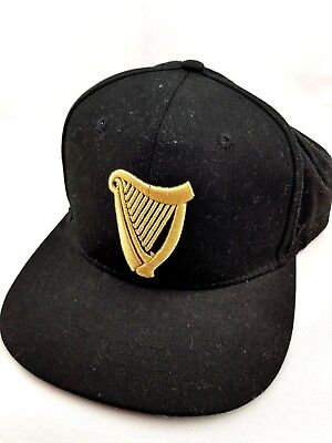 "Guiness ""Made of More"" Cap Collectable Black with Gold Embroidery"