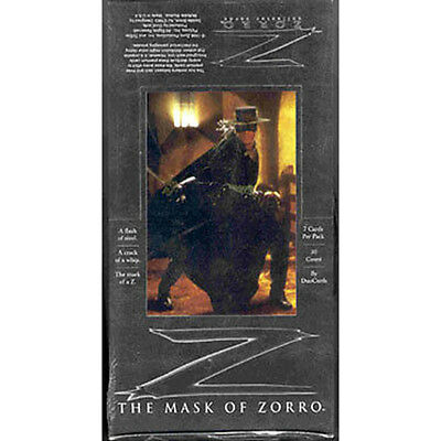 MASK OF ZORRO - Trading Cards Sealed Box (DuoCards) #NEW