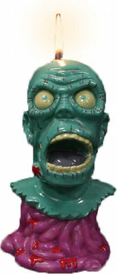 "MELTING ZOMBIE CANDLE - 6"" Candle (Oddco) #NEW"