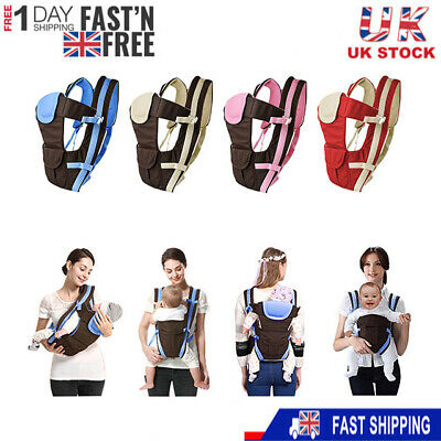 Newborn Ergonomic 4 Position Baby Carrier Sling Wrap Backpack Front Back Chest