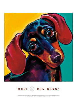 176042 DACHSHUND DOG Mori by Ron Burns Decor WALL PRINT POSTER AU