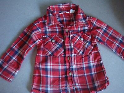 Country Road Baby Boy Long Sleeve Shirt Size 00