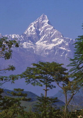 185457 Machapuchare Mountain, Nepal Decor WALL PRINT POSTER AU