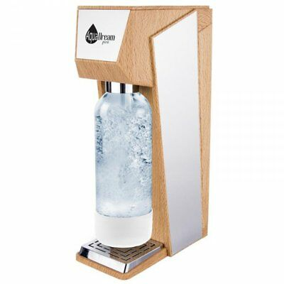 Spirit Sparkling Water Soda  Maker  wood  AQUADREAM 1 YEAR WARRANTY bottle