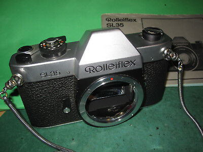 Rolleiflex SL 35 Gehäuse / body -Made in Singapore