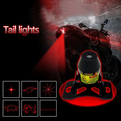 Car Taillight LED Bulb Laser Fog Light Anti-Collision / Tailing Brake Warn Lamp