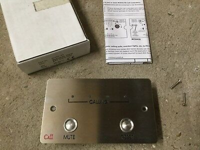 C-TEC NC944/SS 4 Zone Call Controller Stainless Steel *NEW OLD STOCK*