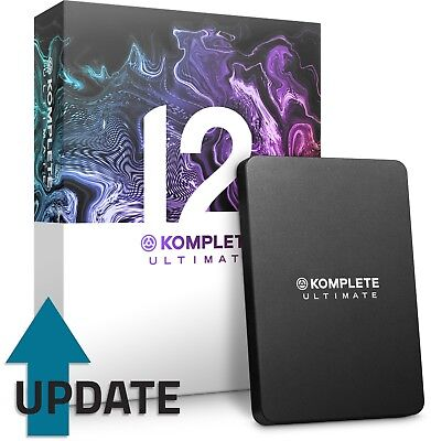 Native Instruments Komplete 12 Ultimate (UPDATE from Komplete Ultimate 8-11)