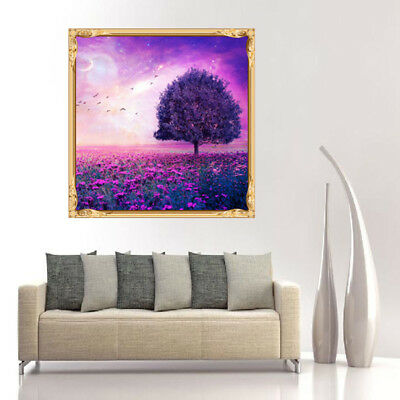 5D Diamond Painting of Butterfly and Blue Flowers Delicate Crafts Stitch Crafts