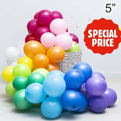 "5""inch Small Best Latex Balloons 500 Quality Standard Balloon GOLD Balloon"