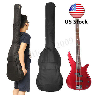 40 '' 41 '' Oxford Rembourré Basse Guitare Électrique Housse Sac À Double Sangle