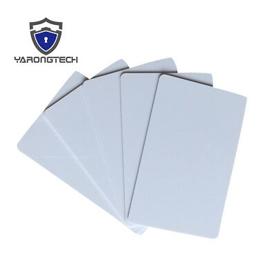 NFC Card NXP NTAG216 Ntag213 Chip White Plastic Android Phone Card (pack of 10)