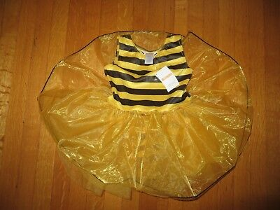 NEW GYMBOREE toddler girl's Bumble Bee Tutu Halloween costume 2T 3T 2 3 NWT