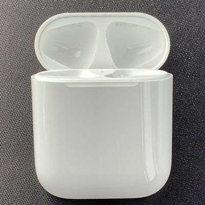 Apple AirPods Charging Charger Case Cube ONLY Replacement OEM Genuine White