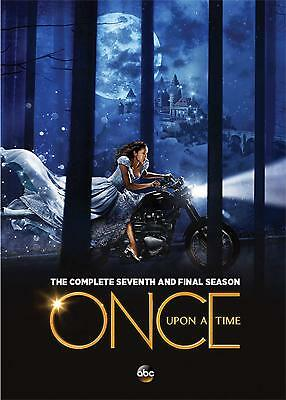 Once Upon a Time 7 The Complete Seventh And Final Season(DVD,2018,5-Disc Set)NEW