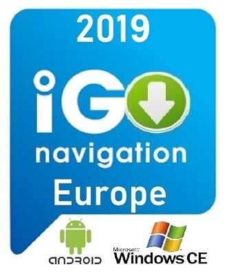 NEW Software iG0 Primo Navigation + Europe Map 2018/11 For Android & Windows CE