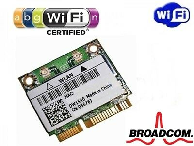+ DW1540 BCM943228HM4L Windows10 5Ghz 802.11a/b/g/n WLAN WIFI Mini PCI Express +