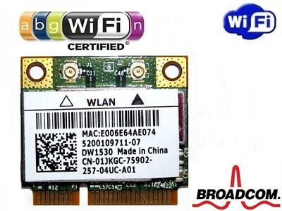 + DW1530 BCM943228HM4L Windows10 Dual Band 802.11a/b/g/n WLAN WIFI Mini PCIe +