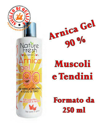 Officinalis ARNICA 90% GEL CAVALLI 250 ml ANTINFIAMMATORIO,DISTORSIONI,TRAUMI