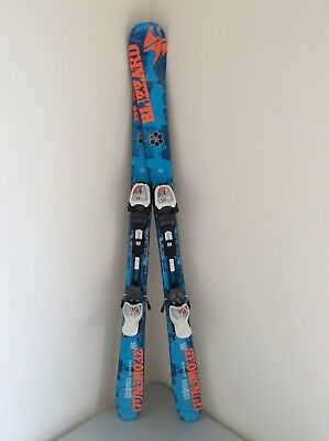 Neue Blizzard Gunsmoke IQ 129 cm Freeride Freestyle Ski + IQ7 Bindungen Top