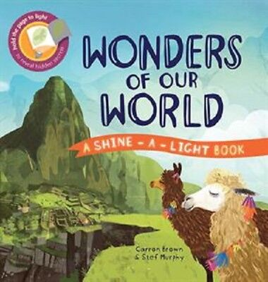 Usborne/Kane Miller ~ Wonders of Our World (Shine-a-Light) NEW ~ Free Ship w/$49