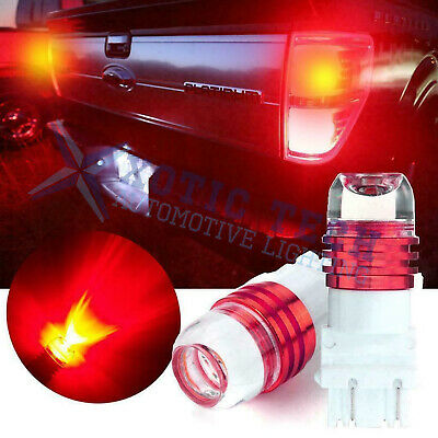 Red Strobe Flashing Warning LED Bulbs Brake Stop Tail Light For Ford F-150 F150