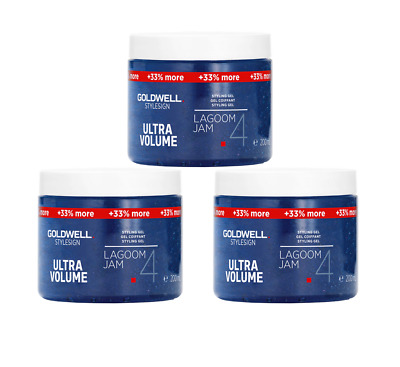 3 Goldwell Stylesign Ultra Volume Gel Lagoom Jam 4 XXL 3x 200ml Kein Import