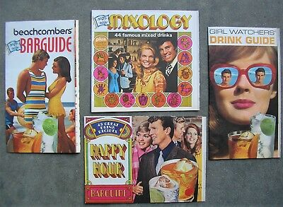 Lot Of Vintage 1970's Southern Comfort Mixed Drink Bar Guides