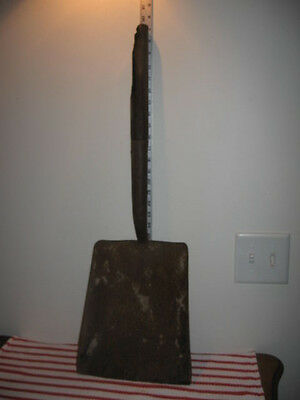 """Rusty Old Barn Find Square End Shovel Head Only 20.25"""" Steampunk FO"""
