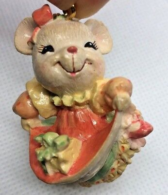Enesco H8 Heart of Christmas Mice Sewing Machine Ornament 4052791