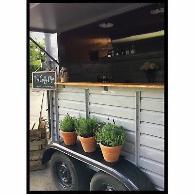 Mobile Vintage Horse Box Bar - Wedding & Event Bespoke Bar Service - HIRE ONLY