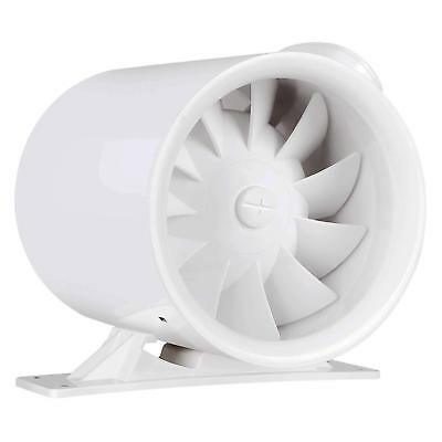 "VIVOSUN 6"" inch Inline Duct Plastic Fan Ventilation Mixed Flow Air Blower 252CFM"
