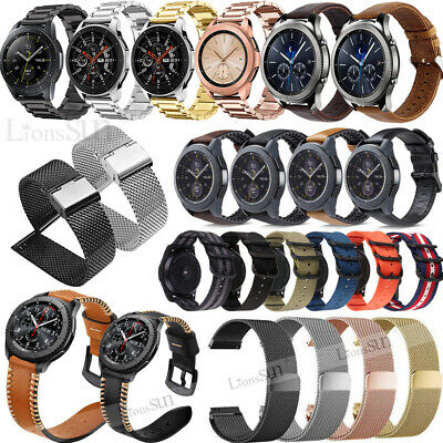 18mm Stainless Steel Milanese Leather Strap Watch Band For FOSSIL Q Venture Gen3