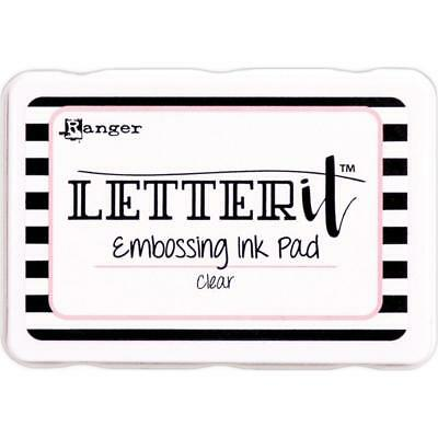 Ranger Letter It Clear Embossing Ink Pad
