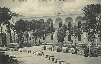 Tunisie Carthage Cour Musee Lavigerie Nd