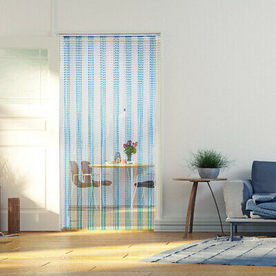 UK Metal Aluminium Chain Door Curtain Blinds Fly Pest Insect Screen Control