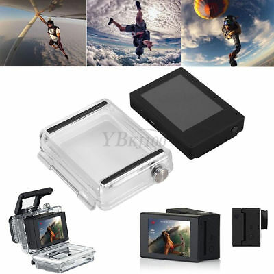 for GoPro Hero 3+4 - LCD BacPac External Display Viewer Monitor Non-touch Screen