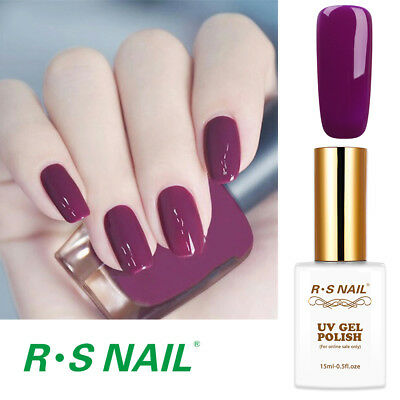 RS NAIL UV LED Gel Nail Polish Varnish Soak Off UV Gel