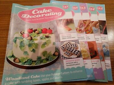 DeAgostini Cake Decorating 151-155