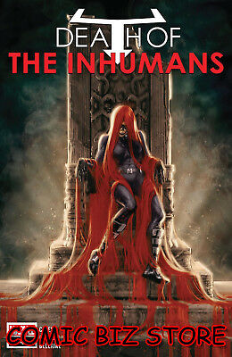 Death Of Inhumans #4 (Of 5) (2018) 1St Print Main Cover Bagged & Boarded Marvel