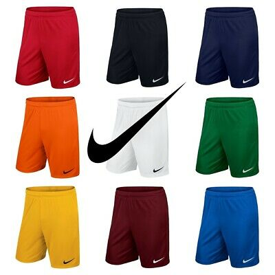 Nike Boys Park Football Shorts Kids Sports Training Gym Running Short