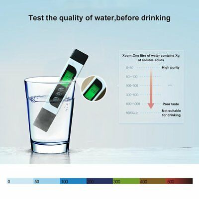 Premium Digital PH Meter / TDS Tester Aquarium Pool SPA Water Monitor F7