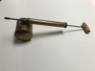 "Vintage Antique Brass Nesthill ""Cosmo Sprayer"" Garden Duster England"